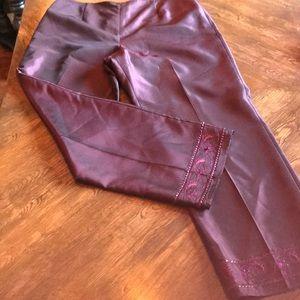 Ann Taylor Shiny Beaded Dress Pants